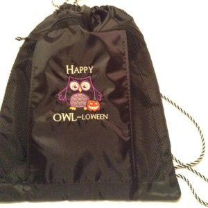 New 31 Cinch Sac Happy Owl-loween